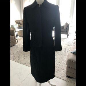 Barney's Black suit dress size 44/10